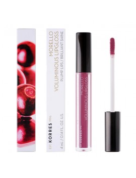 Korres Morello Voluminous Lipgloss 27 Berry Purple 4ml