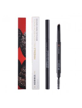 Korres Minerals Precision Brow Pencil 01 Dark Shade 0,2gr