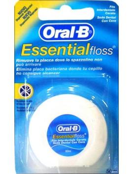 Oral-B Essential Floss Οδοντικό Νήμα με Κερί 50m