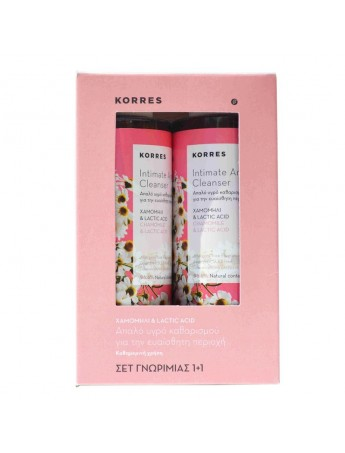 Korres Intimate Area Cleanser 250ml (1+1 Δώρο)