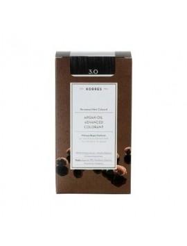Korres Argan Oil Advanced Colorant 3.0 Καστανό Σκούρο