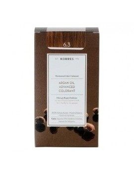 Korres Argan Oil Advanced Colorant 6.3 Ξανθό Σκούρο Χρυσό Μελί