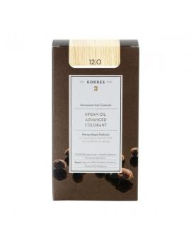 Korres Argan Oil Advanced Colorant 12.0 Ξανθό Special Blonde