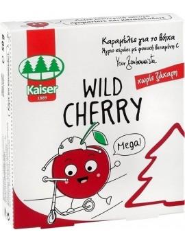 Kaiser Wild Cherry Καραμέλες για το βήχα Άγριο Κεράσι 50gr