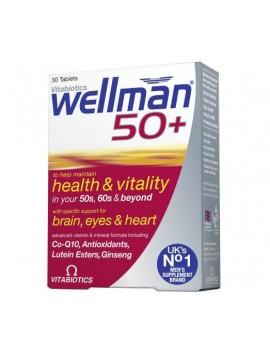 Vitabiotics Wellman 50+ - 30tabs