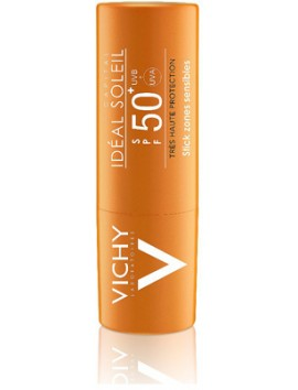Vichy Ideal Soleil Stick Zones Sensibles SPF50+ - 9gr