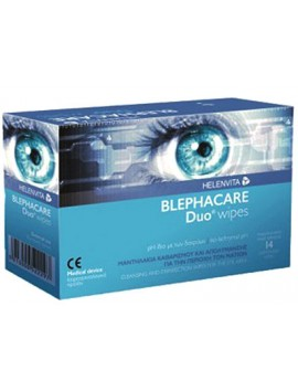 Helenvita Blephacare Duo Wipes 14τμχ.