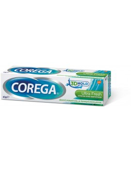 Corega 3D Hold Ultra Fresh 40gr