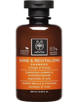 Apivita Shine & Revitalizing Shampoo 250ml