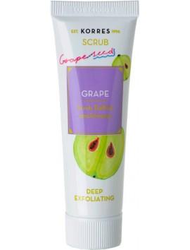 Korres Scrub Grape Βαθιάς Απολέπισης 18ml