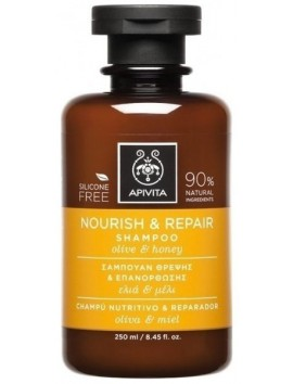 Apivita Nourish & Repair Shampoo 250ml
