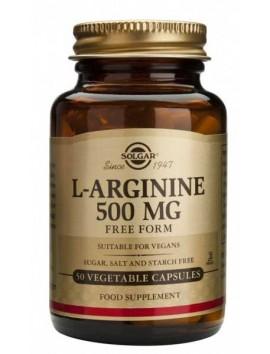 Solgar L-Arginine 500mg - 50veg.caps