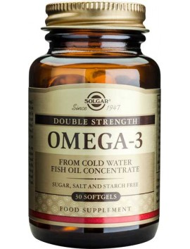 Solgar Omega-3 Double Strength -30softgels