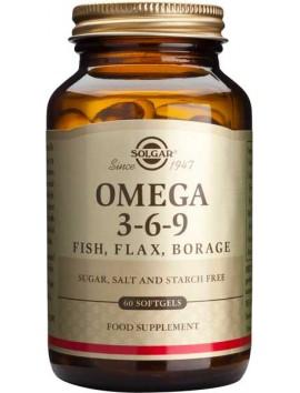 Solgar Omega 3-6-9 - 60softgels