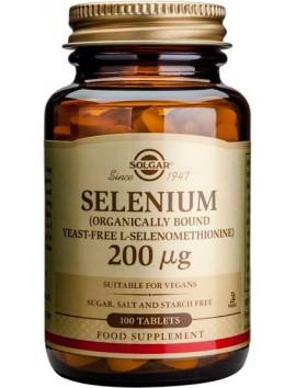 Solgar Selenium 200μg - 100tabs