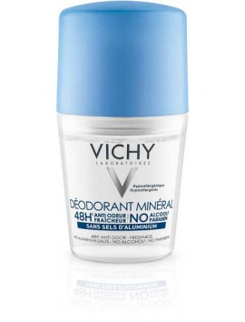 Vichy Deodorant Mineral 48H Roll On 50ml