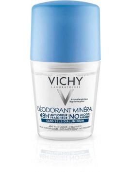 Vichy Deodorant Mineral 48H Roll On 50ml