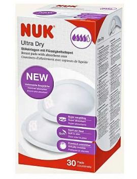 Nuk Επιθέματα Στήθους Ultra Dry 30τεμ.
