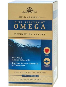 Solgar Wild Alaskan Full Spectrum Omega 120softgels