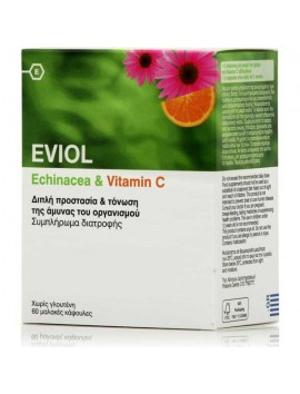 Eviol Echinacea & Vitamin C 60caps