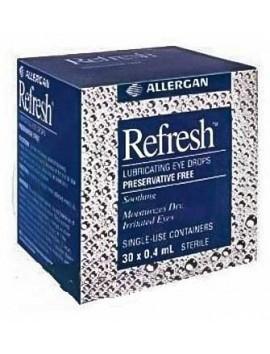 Allergan Refresh Λιπαντικές Οφθαλμικές Σταγόνες 30 x 0,4ml