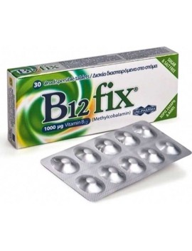 Uni-Pharma B12 Fix 1000μg 30tabs