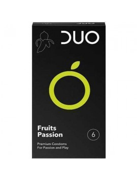 Duo Προφυλακτικά Fruits Passion 6τμχ.