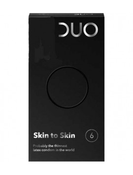 Duo Προφυλακτικά Skin to Skin 6τμχ
