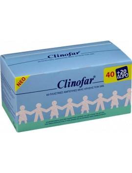 Clinofar Αμπούλες Φυσιολογικού Ορού 60x5ml