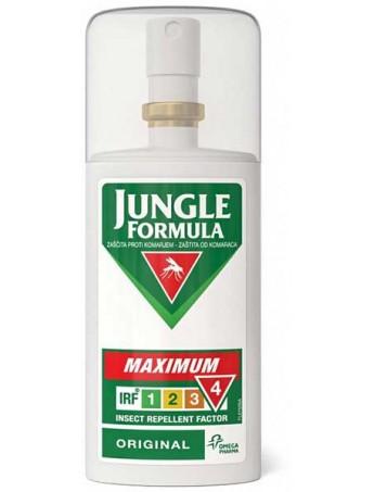 Jungle Formula Maximum Original Εντομοαπωθητικό Spray (IRF4) 75ml