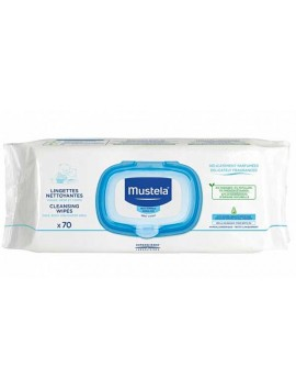 Mustela Cleansing Wipes 70τεμ.
