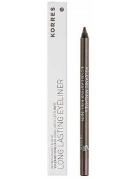 Korres Volcanic Minerals Long Lasting Eyeliner 02 Brown 1,2gr