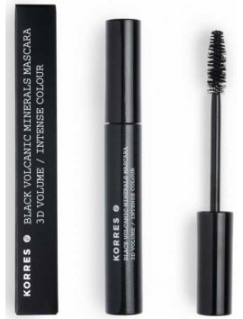 Korres Black Volcanic Minerals Mascara 3D Volume 01 Black - 8ml