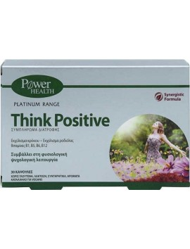 Power Health Platinum Range Think Positive 30caps