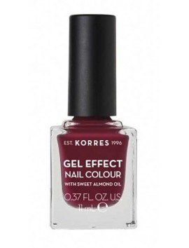 Korres Gel Effect Nail Colour No74 Berry Addict 11ml