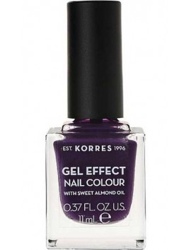 Korres Gel Effect Nail Colour No75 Violet Garden 11ml