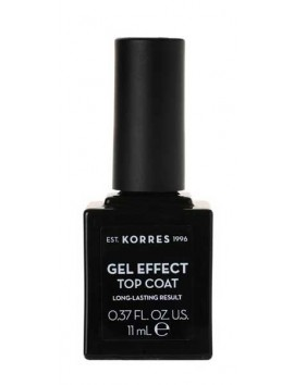 Korres Gel Effect Top Coat 11ml