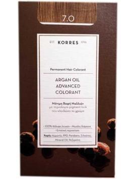 Korres Argan Oil Advanced Colorant 7.0 Ξανθό
