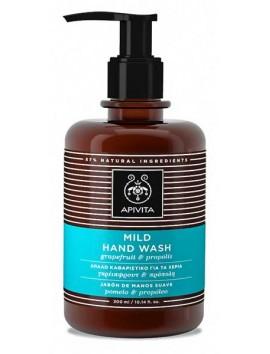 Apivita Mild Hand Wash Grapefruit & Propolis 300ml