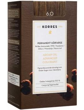 Korres Argan Oil Advanced Colorant 6.0 Ξανθό Σκούρο