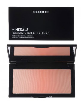 Korres Minerals Draping Palette Trio Coral 21gr