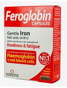 Vitabiotics Feroglobin Capsules - 30caps
