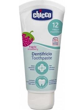 Chicco Dentifricio Toothpaste 12m+ Οδοντόκρεμα (Φράουλα) - 50ml