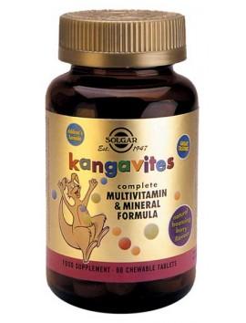Solgar Kangavites Multivitamin & Formula (Berry flavor) 60chewtabs