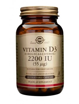 Solgar Vitamin D3 2200IU 100veg.caps