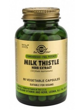Solgar Milk Thistle Herb Extract 60veg.caps