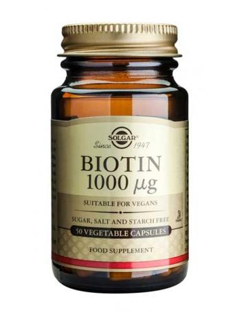 Solgar Biotin 1000μg 50veg.caps