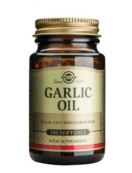 Solgar Garlic Oil - 100softgels
