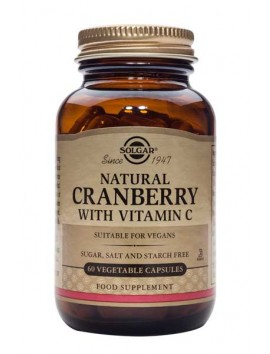 Solgar Cranberry with Vitamin C - 60veg.caps