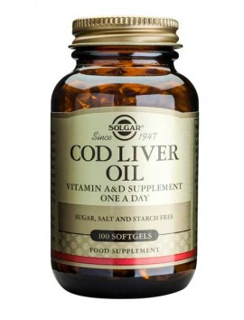 Solgar Cod Liver Oil - 100softgels